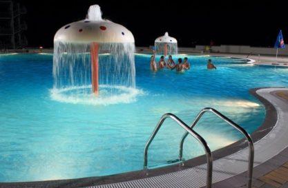 rekreaivni bazen u akva parku Podina