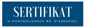 sertifikat akva park podina