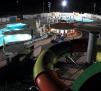 akva park podina noću